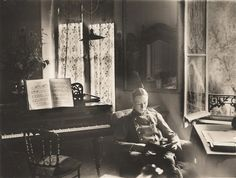A German officer of Flieger Abteilung 280 reads a book in a chateau where he is stationed near the Western Front in 1918