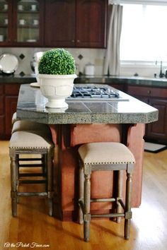 New Kitchen Island Stools Nail Head Stools And Bar Stool