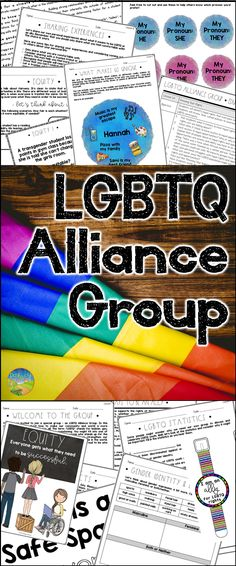 Alliance Group Teach acceptance and inclusiveness with an LGBTQ alliance group for young adultsTeach acceptance and inclusiveness with an LGBTQ alliance group for young adults Counseling Activities, Youth Activities, Lgbt Groups, Lgbt Youth, Safe Schools, Teaching Special Education, Welcome To The Group, Social Emotional Learning, Young Adults