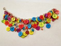 Another button bracelet