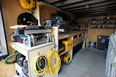 Photo: This Photo was uploaded by BazzerBreakfast. Find other pictures and photos or upload your own with Photobucket free ima. Trailer Shelving, Van Shelving, Trailer Storage, Van Storage, Garage Storage, Tool Storage, Trailer Organization, Business Organization, Cargo Trailers