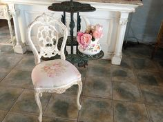 EVERYONE NEEDS A PRETTY LITTLE FRENCH CHAIR