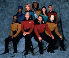 Star Trek: The Next Generation (1987-1994) | Click through for official group photos of the other Star Trek casts.