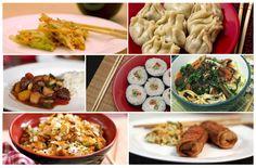 Comidas Orientais veganas