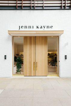 Likes cafe interior, interior exterior, retail interior, door signage, stor Showroom Design, Shop Interior Design, Cafe Design, Retail Design, Storefront Signage, Door Signage, Door Design, Exterior Design, Entrance Design