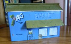 A small block replica of an AG Market, made for me by my brother Mark Schmiedeskamp- ks