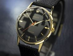 #rolexprecision with black face is quite rare, but definitely a beauty