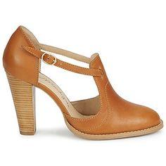 Sandales Petite Mendigote BRIGITTE Cognac #shoes