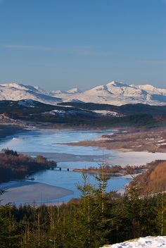 Loch Garry, Scotland by pashl on Flickr.