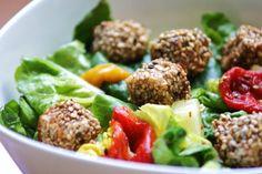 GEFRO Balance Salat mit gebackenem Schafskäse