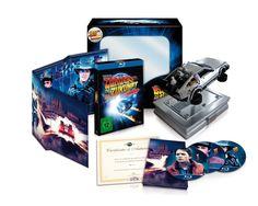 Zurück in die Zukunft - 25th Anniversary Trilogie limitiert, inkl. Miniatur DeLorean Blu-ray Collector's Edition: Amazon.de: Michael J. Fox, Christopher Lloyd, Crispin Glover, Lea Thompson, Thomas F. Wilson, Robert Zemeckis: DVD & Blu-ray