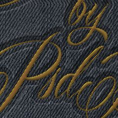 Stitching and sewing can be created also in Photoshop with very realistic results. So in this tutorial we'll create a embroidered logo using only layer styles and of course a fabric material. I chose a denim fabric texture but you can of course choose any fabric you want. If you change the material automatically you will have to adjust also all the layer styles. Here are some other Photoshop stitch tutorials and brushes that you might also like.