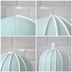 bird cage cake {how to}