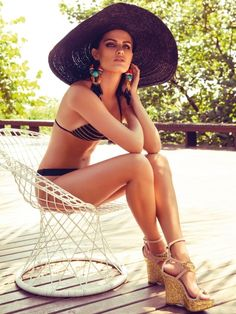 Isabeli Fontana pose pour la collection de maillot de bain Morena Rosa | Blog mode femme : Befashionlike