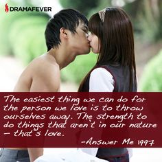 Enjoy the excitement of first love with the nostalgic series Answer Me 1997 on DramaFever