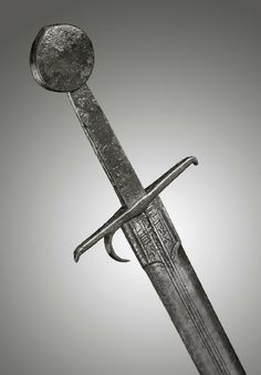 "Am Italian Medieval sword with an Arabic inscription from the arsenal of ""ALEXANDRIA"", early 15th century dated 1453 A.D."