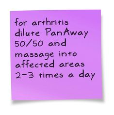 Essential Oils Arthritis Relief | Arthritis Recipe – use YOUNG LIVING essential oils only!