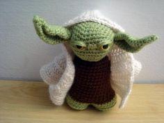 Amigurumi Yoda (Star Wars - La guerra de las Galaxias)