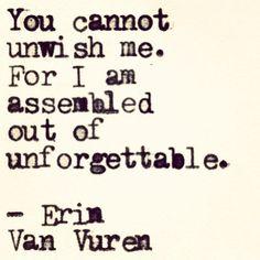|| fishing out the wishing well | Erin Van Vuren