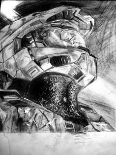 Halo 3 Master Chief. by STALKERms1