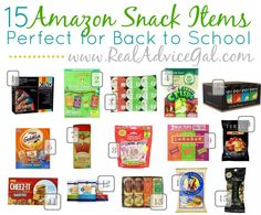 15 Cheap Back to School Snacks