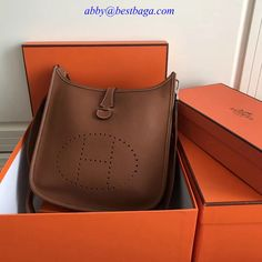 Hermes Evelyne Medium Bag in Origianl Leather