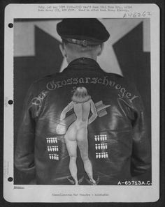 Bomber Jacket Art – See U.S. Air Force Pilots Personalized Nose Art on Their A-2 Flight Jackets During WWII
