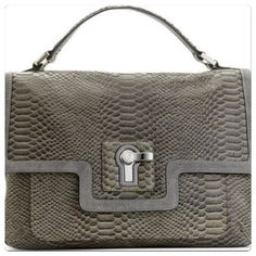 Juicy Couture leather satchel purse Gray croc leather satchel purse. Comes with removable long strap. Measures 10x7x3. Brand new with tags. Juicy Couture Bags Satchels