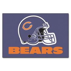 Chicago Bears Blue Tufted Area Rug