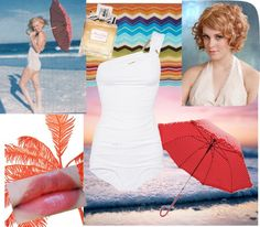 Marilyn Monroe, created by kailan-white on Polyvore