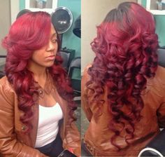 i love the style hate the color. I want this in black for my hair.