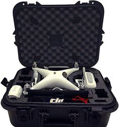 Case Club DJI Phantom 4 Waterproof Compact Drone Case * You can get additional details at the image link. (This is an affiliate link) Drone Model, Phantom Drone, Tv Videos, Gopro, Baby Car Seats, Compact, Club, Ebay, Packaging