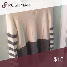 Sweater! This is a between me and you sweater. Really cute with jeans. Really good condition! Tops Blouses