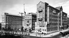 Pauls Hospital: Historic Burrard Building by Heritage Vancouver Downtown Vancouver, Vancouver Island, Vancouver Architecture, Western Canada, Canadian History, Old Pictures, British Columbia, Scenery, Street View