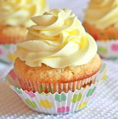 Lemon Drop: Decadent Lemon Cupcakes