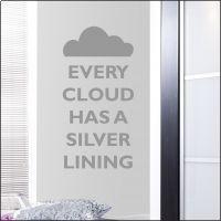 Keep Calm Every Cloud Wall Sticker Wall Sticker, Wall Decals, Calm, Clouds, Home Decor, Decoration Home, Room Decor, Home Interior Design, Home Decoration