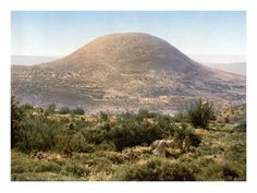 Mount Tabor, halfway between Nazareth and the Sea of Galilee, is traditionally believed to be the site of the transfiguration of Jesus.