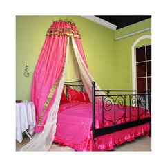 Beautiful Victorian Castle Palace Pink Satin by QueenAndCastle