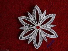 Snowflake Dáno TECHNIKA quilling