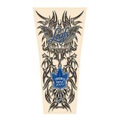 NHL Tribal Tattoo Sleeve (Mens One Size) - Atlanta Thrashers Toronto Maple Leafs Wallpaper, Toronto Maple Leafs Logo, Wallpaper Toronto, Wallpaper Wallpapers, Crochet Baby Dress Pattern, Baby Dress Patterns, Magic Tattoo, Best Sleeve Tattoos, Tattoo Sleeves