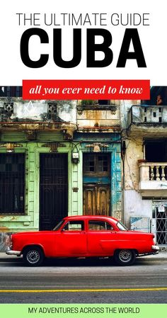 Discover the most amazing things to do in Cuba and the top places to visit in Cuba - via bon bagay Cuba Travel, New Travel, Travel With Kids, Beach Travel, Mexico Travel, Spain Travel, Travel Guides, Travel Tips, Travel Destinations
