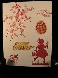 Easter Blossoms Index Card by galleryindex - Cards and Paper Crafts at Splitcoaststampers