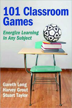This book offers 101 classroom games you can incorporate into your lesson plans.