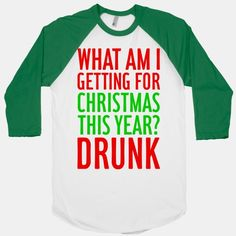 Getting Drunk For Christmas - Whoever gets Alex in the draw should buy this for him. hahahaha @Rachel Larsen