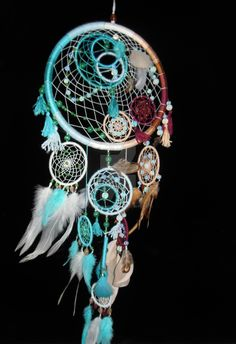 colorful_dreamcatcher___dream_catcher__traumfanger_by_dreamermirano-d8i4yld.jpg (1024×1495)