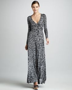 Print Wrapped Maxi Dress, Women\'s by Rachel Pally at Neiman Marcus.