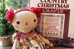 新作のクリスマスのカントリードール : nantucket-countryのBLOG