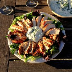 Lemony Grilled Chicken for a Heart Healthy #SundaySupper