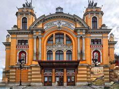 Cluj-Napoca Best of Cluj-Napoca, Romania Tourism - Tripadvisor Romania Tourism, National Theatre, Trip Advisor, Road Trip, Places To Visit, Mansions, Architecture, House Styles, World