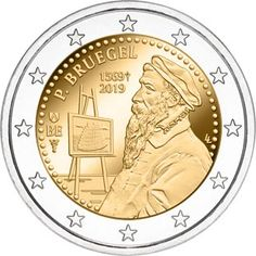 Check this website resource. Discover more about gold and silver coins. Click the link to find out more. Silver Dimes, Gold And Silver Coins, Piece Euro, Pieter Bruegel The Elder, Euro Coins, Commemorative Coins, World Coins, European History, Money Matters
